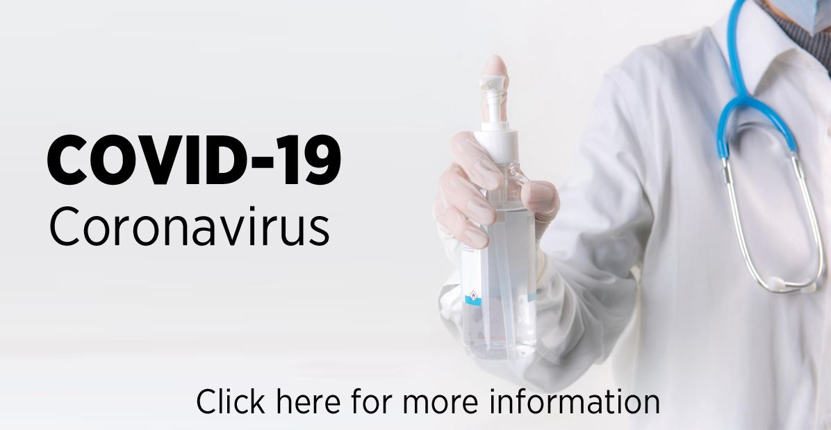 COVID-19 Coronavirus | Click here for more information