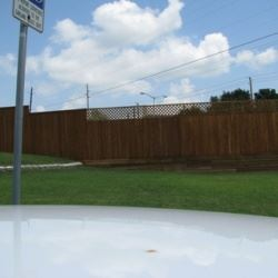 Fence Around a Commercial Property
